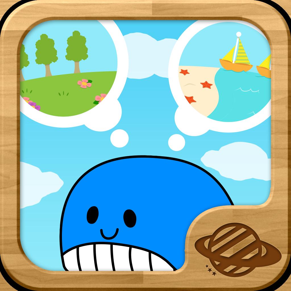 簡単スイスイどうぶつパズル!幼児・子供向け知育アプリ(無料)