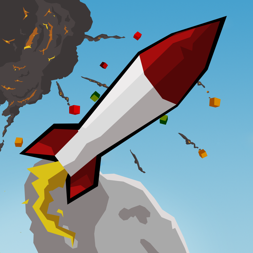 Rocket Riot HD iOS